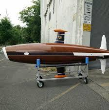 Wooden submarine built for the UW team